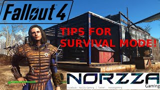 Fallout 4 TIPS for Early Game Survival Mode