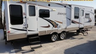2011 Keystone Sprinter 30ft Travel Trailer In Like New Condition