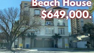 DEAL ALERT! Beach House For Sale in Myrtle Beach SC - HOME TOUR