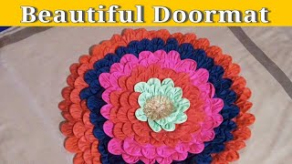 Wow! Amazing Doormats | How to make doormats using waste clothes - Diy making idea