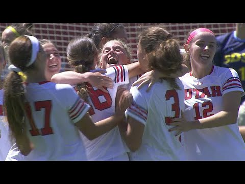 Highlights: No. 20 Utah women's soccer defeats South Dakota State