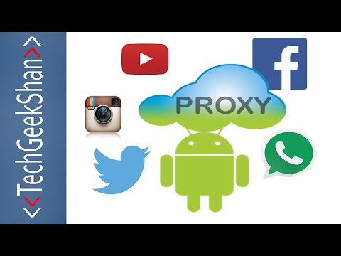 Access Internet By All Android Apps In Proxy Network | No Root | Wi Fi