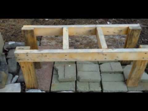 Hive Stand Designs : Make a cheap and simple bee hive stand youtube