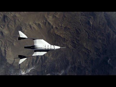 Virgin Galactic: VSS Unity Glide Flight 03 | 24 February 2017
