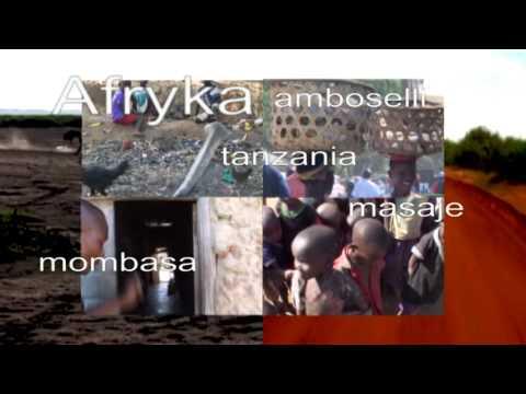 Czołówka filmu z podróży po Afryce