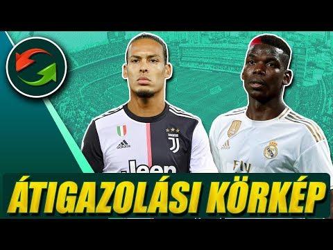 Ezeket a játékosokat adná Pogbáért a Real! A Juve van Dijk-ot akarja?