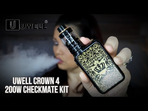 UWELL CROWN 4 CHECKMATE KIT - Worth the Hype?