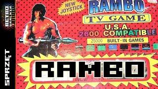 """Rambo - TV Game 2600 - Klon Atari 2600 - Pierwsza """"prawdziwa"""" konsola w Polsce -  RG#110"""
