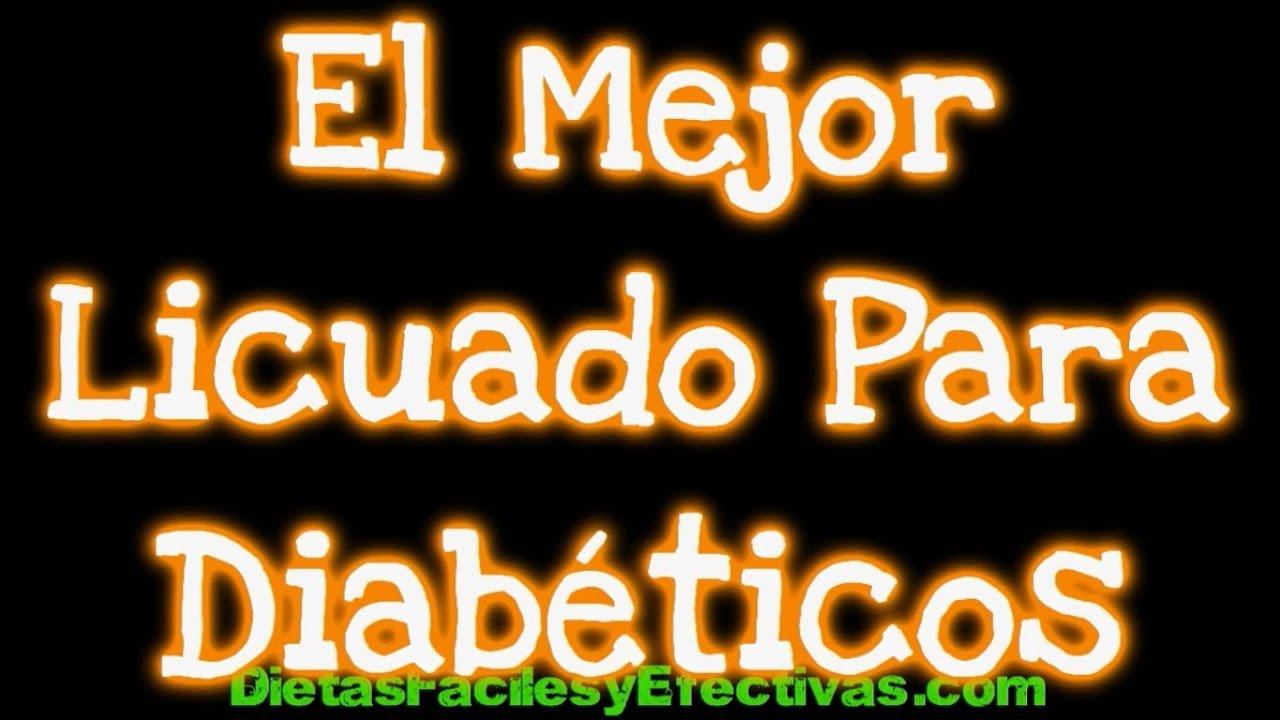 El Mejor Licuado Para Diabéticos - Saludable Delicioso