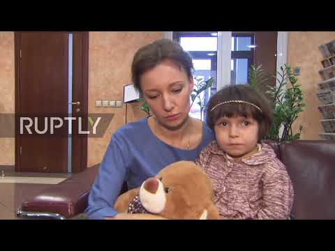 Russia: Children of IS fighters returned safely from Iraq to Moscow