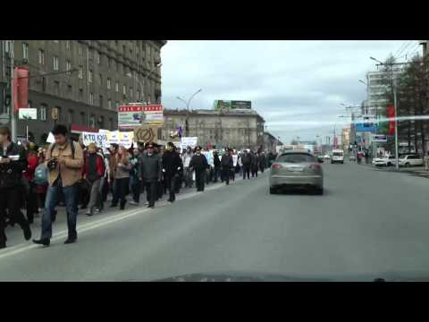 1 may in Novosibirsk Russia