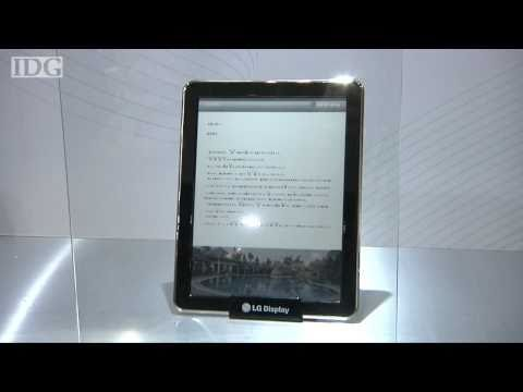 FPD: E Ink and LG color e-paper screens debut in Japan