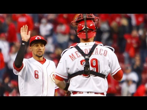 Devin Mesoraco calls Billy Hamilton 'most unique player' in MLB