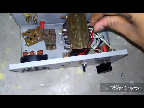assemble auto cut voltage stabilizer at home in hindi part 1