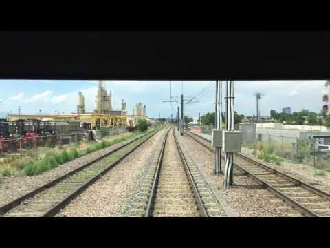 Denver RTD Light Rail D Line From 16th Stout Street to Littleton Mineral Station Full Ride
