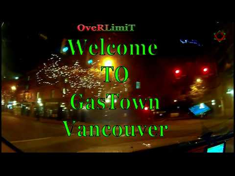 Gas Town in Vancouver, British Columbia || ** MUST VISIT ** ||