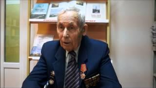 К 70 летию Победы  Уроки истории   Рассказывает ветеран ВОВ Вокин И И   Часть 1