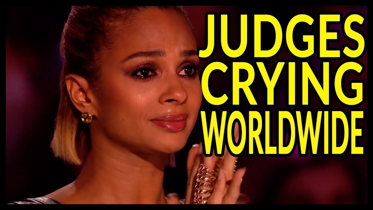top 10 when judges starts to cry on got talent world youtube