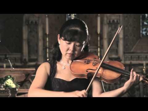 Bach Sonata No.1 for solo violin (3rd movement - Siciliano) - Miho Hakamata