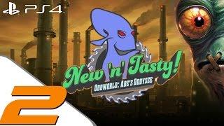 Oddworld New n Tasty - Walkthrough Part 2 - Stockyard