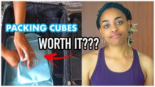Packing Cubes vs. No Packing Cubes: Will Packing Cubes Make Me More Organized?