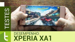 Desempenho do Xperia XA1 | Teste de velocidade oficial do TudoCelular