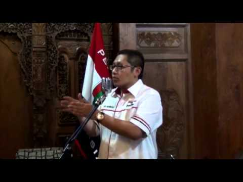 PPI 25 oktober Anas Urbaningrum Pidato Pembukaan Sumpah Pemuda