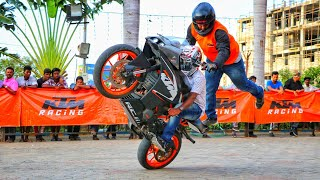 Ktm duke & rc200 stunts- PRO GUYZ
