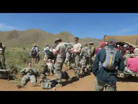 Bataan Memorial Death March 2016 (FULL 26.2 MILE COURSE)