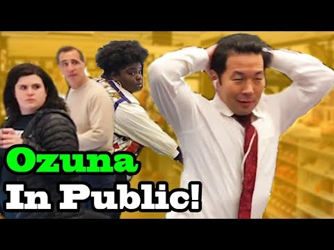 "OZUNA - ""Unica"" - SINGING IN PUBLIC!!"