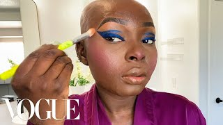 Shalom Blac's 10-Minute Guide to Airbrushed Skin and Everyday Glam | Beauty Secrets | Vogue