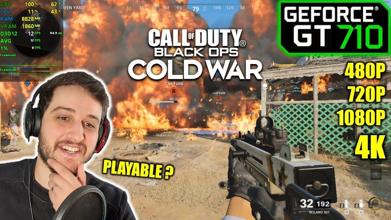 Download GT 710 | COD Black Ops: Cold War - 4K, 1080p, 720p, 480p