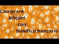 [Tutorial ITA] Acquistare bitcoin con bonifico bancario