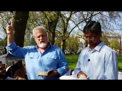Muslims Never Answer Jay Smith - Speakers Corner Hyde Park London 8-5-16.