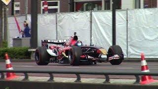 2006 Toro Rosso STR1 V10 ex-Vettel - City Demo Assen - EPIC Sound!