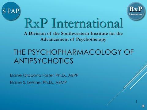 The Psychopharmacology of Antipsychotics