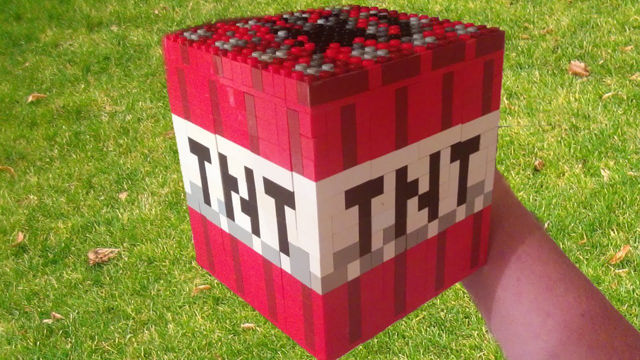 how to make lego minecraft blocks