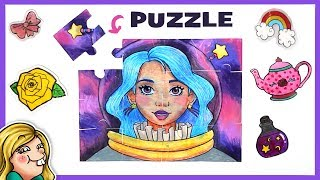 Turn Your Art into a PUZZLE! Playing With SHRINK FILM