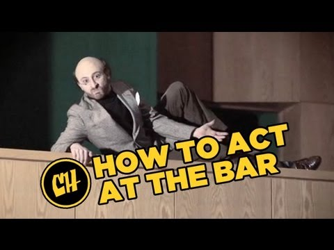 Everyday Acting: How to Act at the Bar