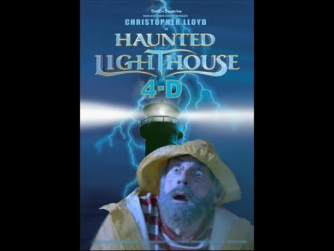 R.L. Stine Haunted Lighthouse 4D complete movie at SeaWorld San Antonio