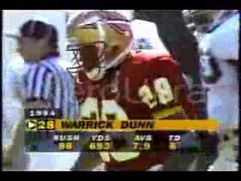 Florida State Seminoles Warrick Dunn