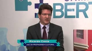 Câmara Aberta -=- PROPAGANDA ELEITORAL (permitida por lei) - Ricardo da Costa