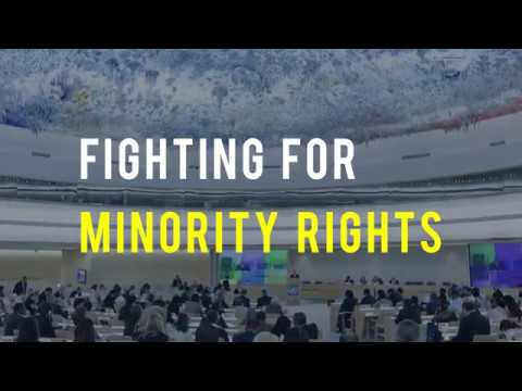 Fighting for minority rights at the UN