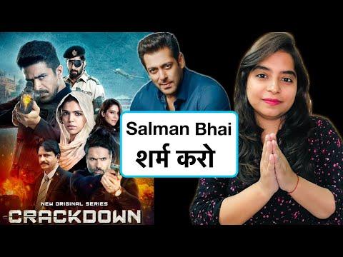 Crackdown Web Series REVIEW | Deeksha Sharma