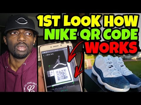 The Nike QR Code Will Not Stop People Selling Fake Shoes!!!