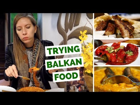 Balkan Food Review - Our first impressions trying Bosnian Fo