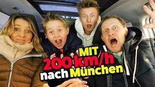 Mit 200 km/h nach München! Ab zum MEGA EVENT! TipTapTube