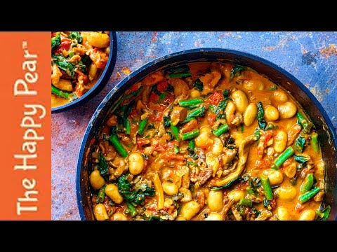 SPINACH & BUTTER BEAN CURRY | LOW FODMAP | VEGAN