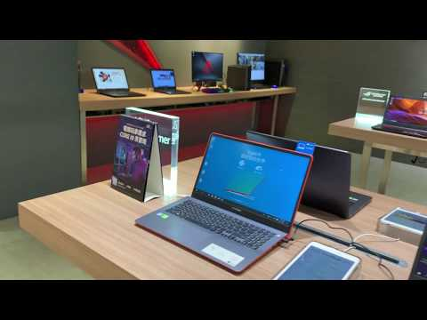 ASUS Flagship Store At The Syntrend Mall In Taipei, Taiwan During Computex 2019