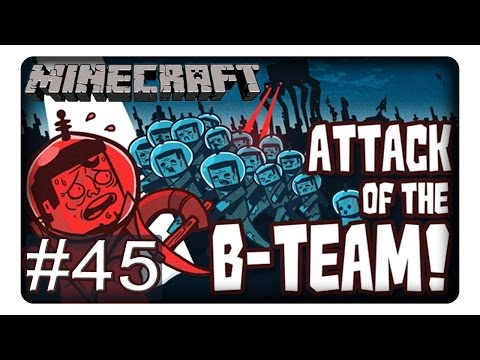 VORBEREITUNG LAGERSYSTEM #45    Let's Play Minecraft   Attack of the B-Team   Deutsch   German